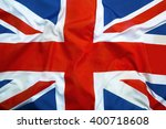 flag of great britain as a...