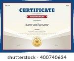 Certificate Of Achievement...
