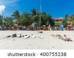 kuta indonesia  july 24  ... | Shutterstock . vector #400755238