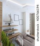 interesting idea shelve and... | Shutterstock . vector #400766194