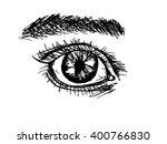 sketch eye | Shutterstock . vector #400766830