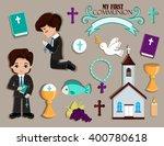 set of design elements for... | Shutterstock .eps vector #400780618