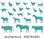 vector file of farm animals... | Shutterstock .eps vector #400781800