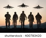 Military Silhouettes Of...