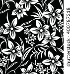 vintage floral seamless pattern | Shutterstock .eps vector #400787218
