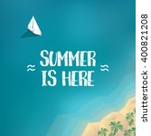 summer holiday poster  banner...