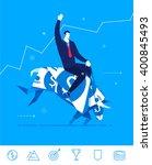 flat design vector concept... | Shutterstock .eps vector #400845493