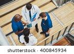 Multiracial Medical Team Havin...