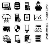 computer  big data  technology... | Shutterstock .eps vector #400856290
