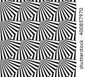 geometric monochrome pattern... | Shutterstock .eps vector #400857970