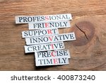 service acronym in business...   Shutterstock . vector #400873240