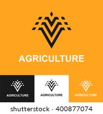 business icon  agriculture ... | Shutterstock .eps vector #400877074