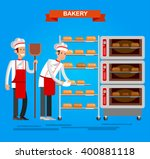 vector detailed characters chef ... | Shutterstock .eps vector #400881118