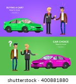 design concept of choice and...   Shutterstock .eps vector #400881880