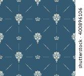 royal wallpaper seamless...   Shutterstock .eps vector #400896106