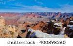 one part of the grand canyon... | Shutterstock . vector #400898260
