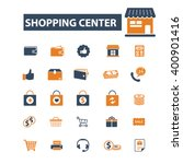 shopping center icons  | Shutterstock .eps vector #400901416