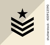 military star design   vector