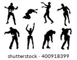 picture of zombies | Shutterstock .eps vector #400918399