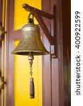 railway bell | Shutterstock . vector #400922599