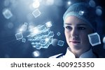 innovative technologies in... | Shutterstock . vector #400925350