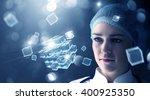 innovative technologies in... | Shutterstock . vector #400925350