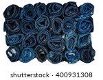 Many Roll Blue Denim Texture ...