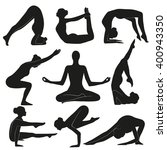 yoga   Shutterstock . vector #400943350