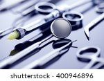 professional dental tools in a... | Shutterstock . vector #400946896