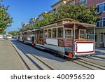 san francisco cable cars  | Shutterstock . vector #400956520