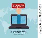 shopping online design    Shutterstock .eps vector #400959010