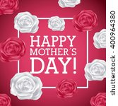 happy mothers day design  | Shutterstock .eps vector #400964380