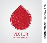 grunge shape. | Shutterstock .eps vector #400967578