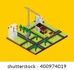 under construction design  | Shutterstock .eps vector #400974019