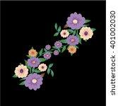 flower | Shutterstock .eps vector #401002030