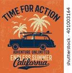 california typography for t...   Shutterstock .eps vector #401003164