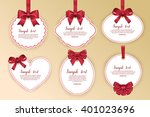 gift card design | Shutterstock .eps vector #401023696