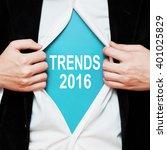 trends 2016 | Shutterstock . vector #401025829