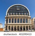 lyon  france   september 21 ... | Shutterstock . vector #401090413