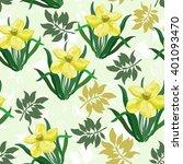 seamless vector summer pattern...   Shutterstock .eps vector #401093470