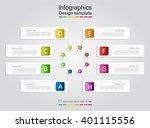 infographic design template... | Shutterstock .eps vector #401115556