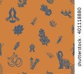 diwali   indian festival... | Shutterstock . vector #401118880