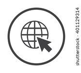web icon jpg   Shutterstock .eps vector #401129314