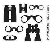 binocular set. zoom tool...