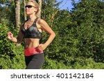 jogging woman | Shutterstock . vector #401142184