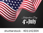 independence day 4th of july... | Shutterstock .eps vector #401142304