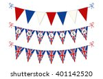 Cute Bunting Flags For English...