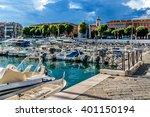 nice  france   july 11  2014 ... | Shutterstock . vector #401150194