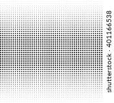 vector halftone texture.... | Shutterstock .eps vector #401166538