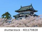 Cherry Blossoms At The Hirosak...